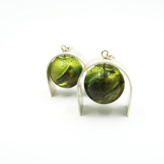 Curvier Earrings – Green