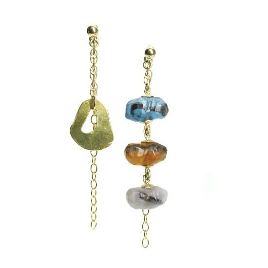 Seaborg Earrings – Gold
