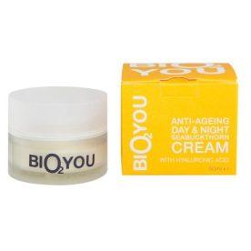 Bio2You duindoorn anti-age dag en nacht creme voor huidverzorging