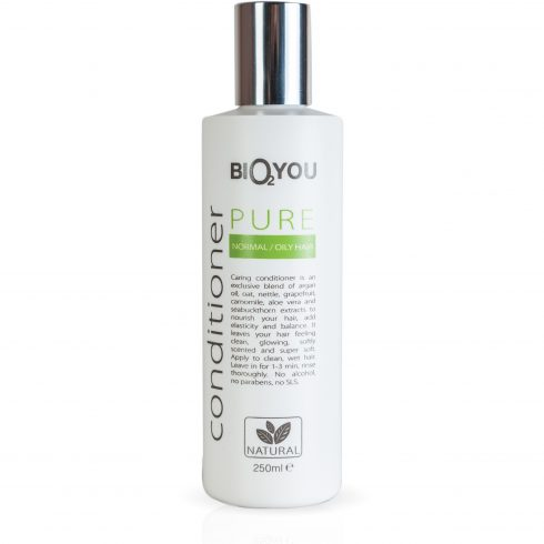Bio2You conditioner Pure voor normaal en vet haar