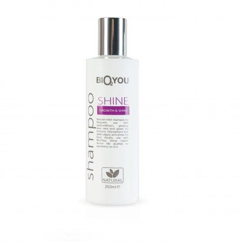 Bio2You shampoo shine voor futloos haar en tegen uitval