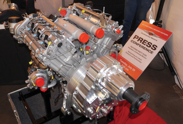Continental Motors Introduces New Diesel V 6 Aviation