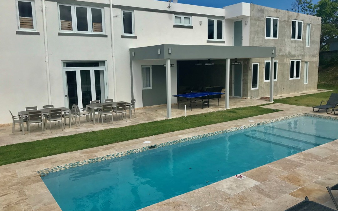 Luquillo – Luxury + Private Pool up to 33 pp – 10Br – 8.5 Baths = ($30 person/night if u are 33)
