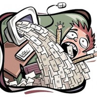 flood of email