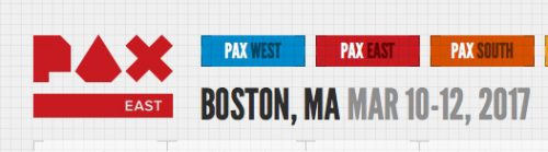 Heading to PAX East