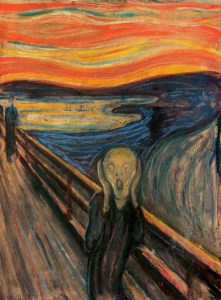 The Scream or Bee Face