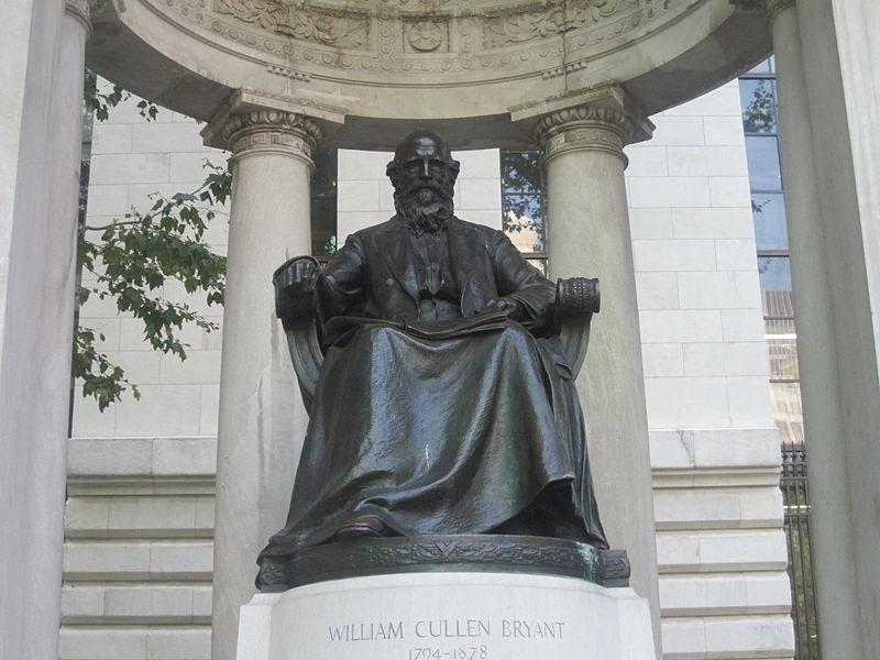 Grandfather biocitizen, William Cullen Bryant