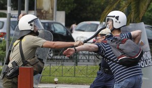 Athens 2011 and the Greek Revolution. Don't believe the media.