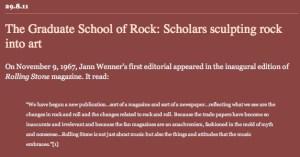 REBLOGGED: The Graduate School of Rock: Scholars sculpting rock into art