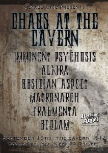IMMINENT PSYCHOSIS @ The Cavern (Adelaide) 15 Sept