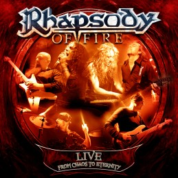 Rhapsody of Fire - Live: From Chaos to Eternity cover art