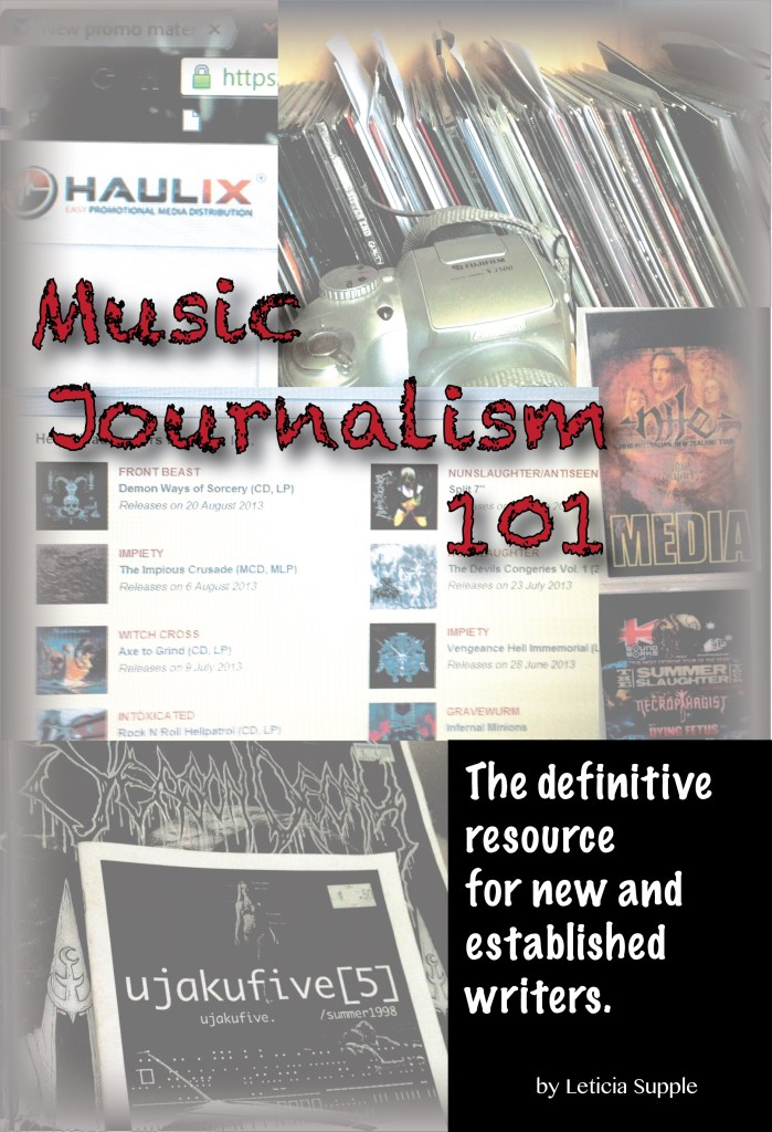 Cover image of Music Journalism 101: The Definitive resource for writers and editors