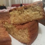photo to The Amazing Long Distance Cashew Custard Dream Cake That Molly & Maria Fought Over From Adelaide to Melbourne.