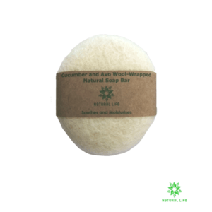 Wool_wrapped_Natural_soap_bar_cucumber_and_avo_cream_300x300