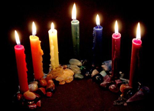 Risultati immagini per candele colori giorni