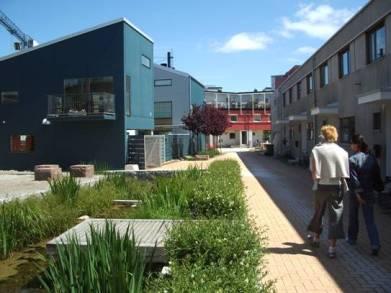 Ecoquartier Bo01, Malmö (source : www.eco-quartiers.fr)