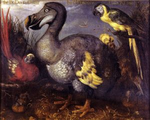 painting of dodo bird