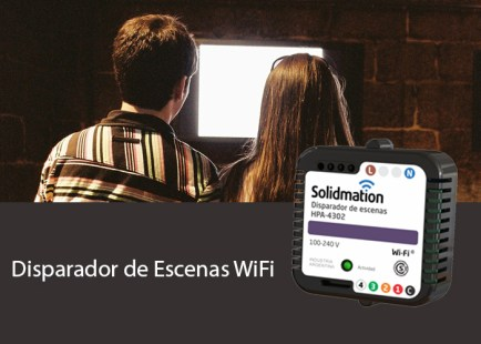 Disparador de Escenas WiFi