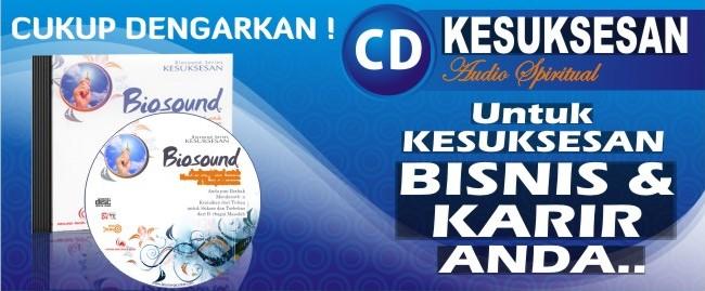 Musik Terapi Gelombang Otak – CD Audio Kesuksesan Biosound