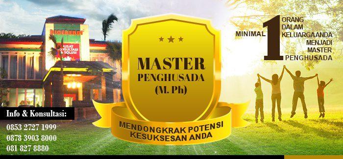 Program Pelatihan Bioenergi - Master Penghusada