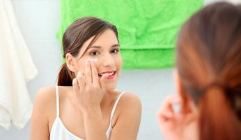 Apply Face Cream to get rid of wrinkles