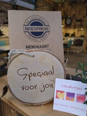 Valentijnsdag bij de BioExpress - lunchroom Nieuw-Vennep