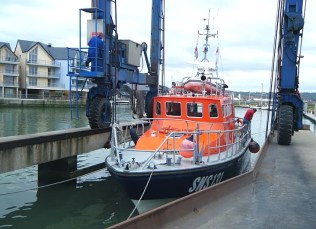 Rescue boat - France