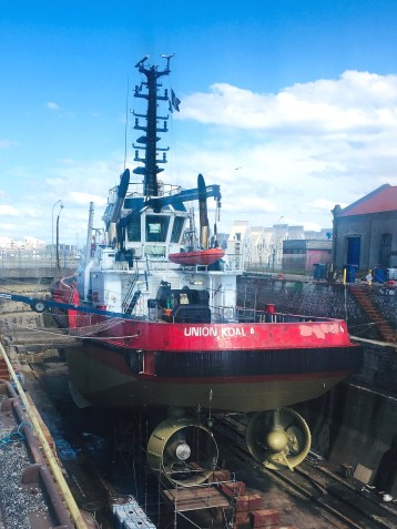 Union Koala tugboat (Kotug Smit) Cleanhull Harsonic
