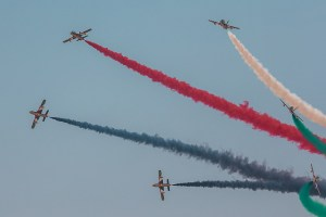Dubai Air Show by Alexander Babashov via Flickr.