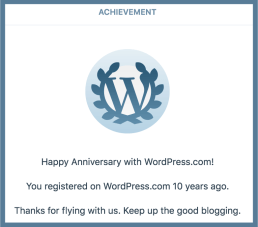 wordpress achievement