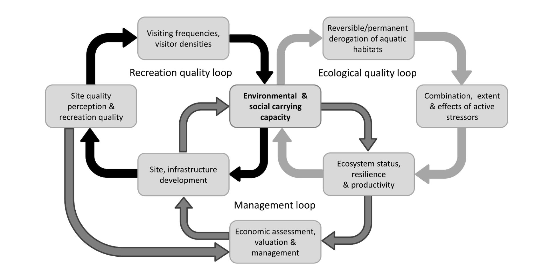 Managing Multiple Pressures From Recreational Activities