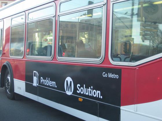 metro bus public transportation