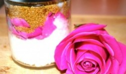 DIY Organic Rose Scrub