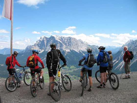 bike down the mountain