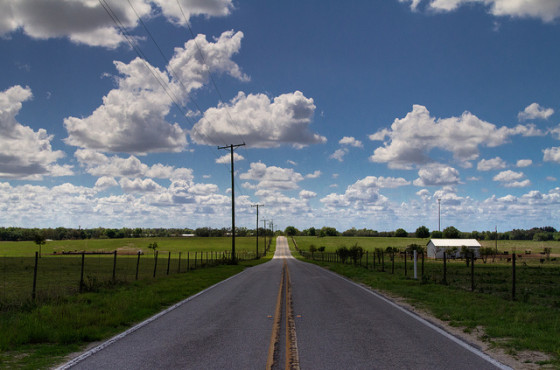 Summer Travel Long Road