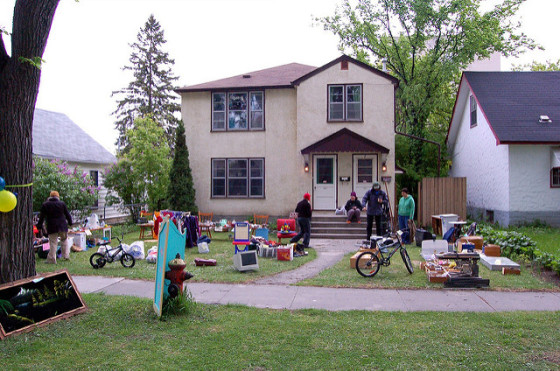 Yard Sale image by Dano via Flickr Creative Commons license.