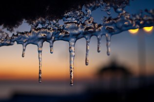 Icicles at Dawn | Image of the Day