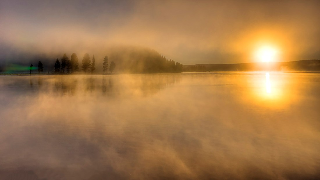 Mist off the River