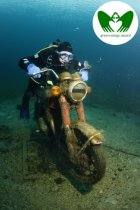 Submerged Motorcycle | Green Wings Award