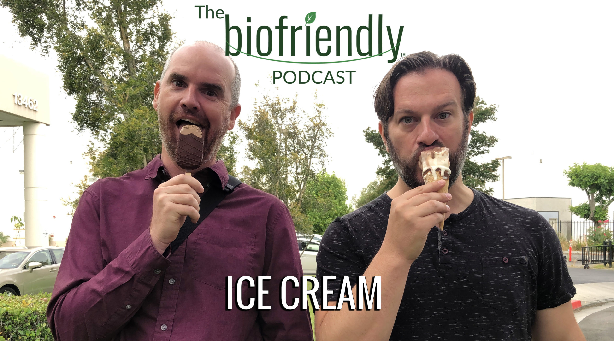 The Biofriendly Podcast - Episode 24 - Ice Cream