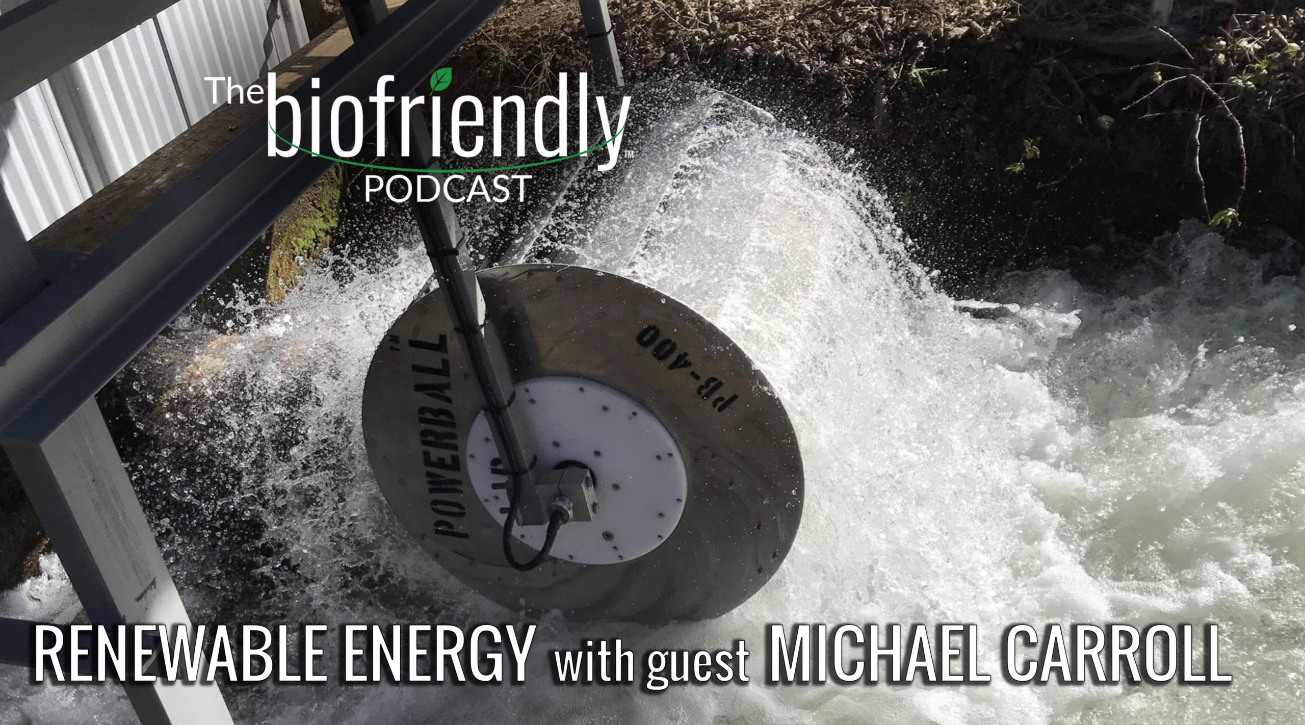 The Biofriendly Podcast - Episode 59 - Renewable Energy with guest Michael Carroll