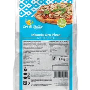 Oro pizza Ori di Sicilia senza glutine e senza lattosio
