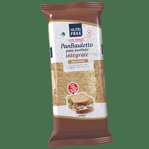 Panbauletto integrale nutrifree senza glutine e senza lattosio