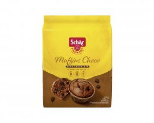 Muffins choco schar senza glutine e senza lattosio