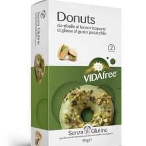 Donuts al pistacchio vidafree senza glutine