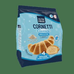 cornetti classici nutrifree senza glutine e senza lattosio