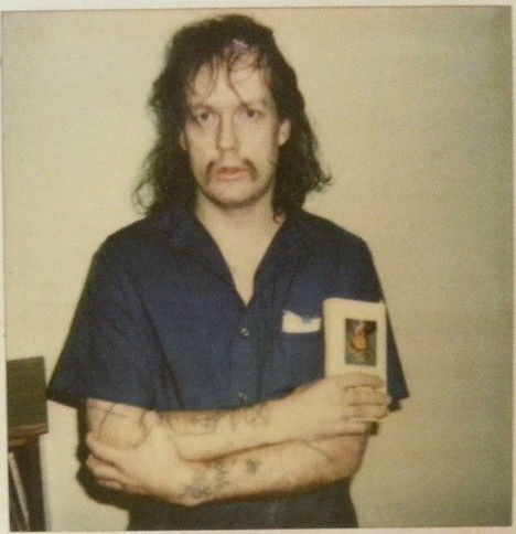 Nico Ann Deneault's father GG picture while he was in jail