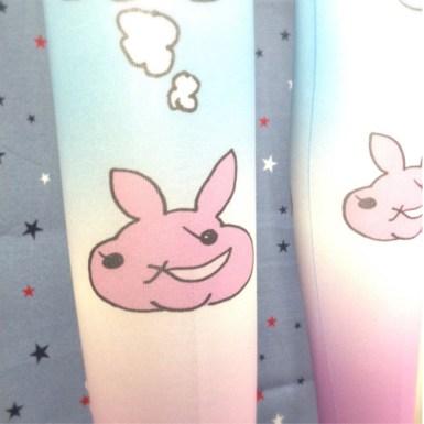 【Tights】2828考えるあし | はだかんぼねずみ商店 http://hadanezu.theshop.jp/items/1362894