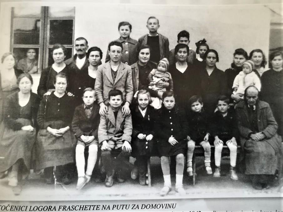 Stara fotografija: Zatočenici logora Fraschette na putu za domovinu