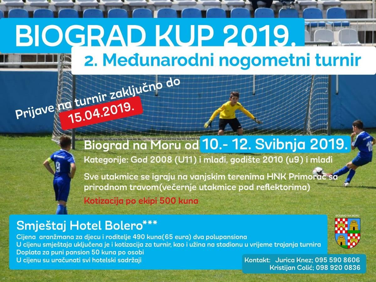 Počele su prijave za Biograd kup 2019, drugi međunarodni nogometni turnir za djecu